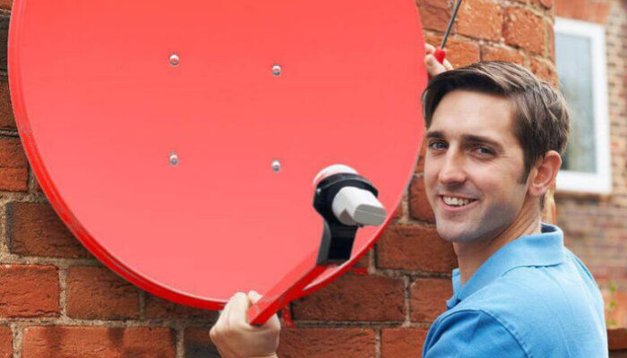 установить спутниковую тарелку МТС